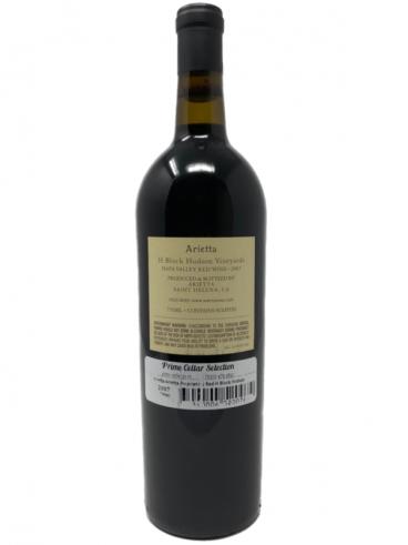 2007 Arietta 'H Block Hudson Vineyards' Cabernet Franc back