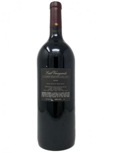 1999 Lail Vineyards J. Daniel Cuvee Cabernet Sauvignon (1.5 L) back