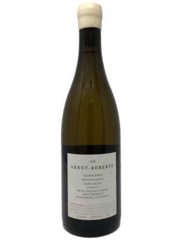 2016 Arnot-Roberts Watson Ranch Chardonnay back